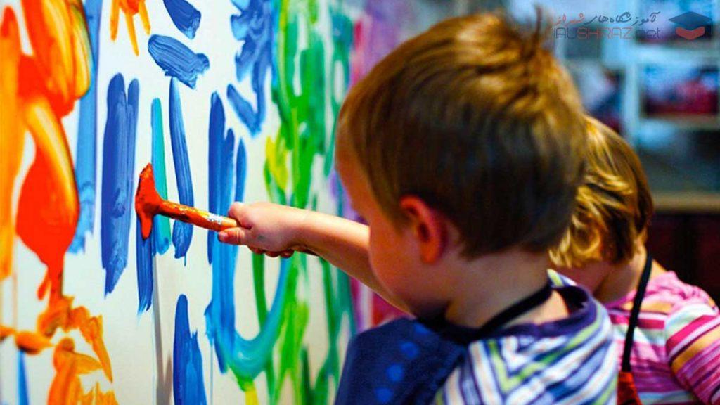 آموزش مربیگری نقاشی کودک در شیراز