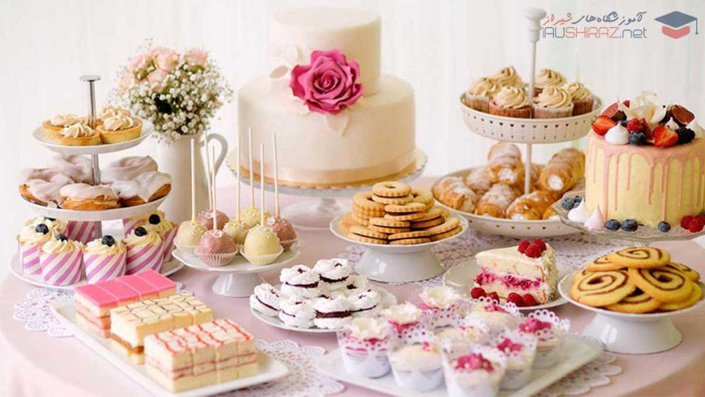 لیست آموزشگاه های شیرینی پزی در شیراز